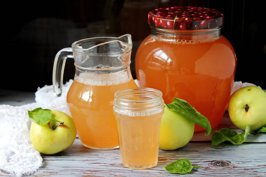 Яблочный сок в соковарке на зиму