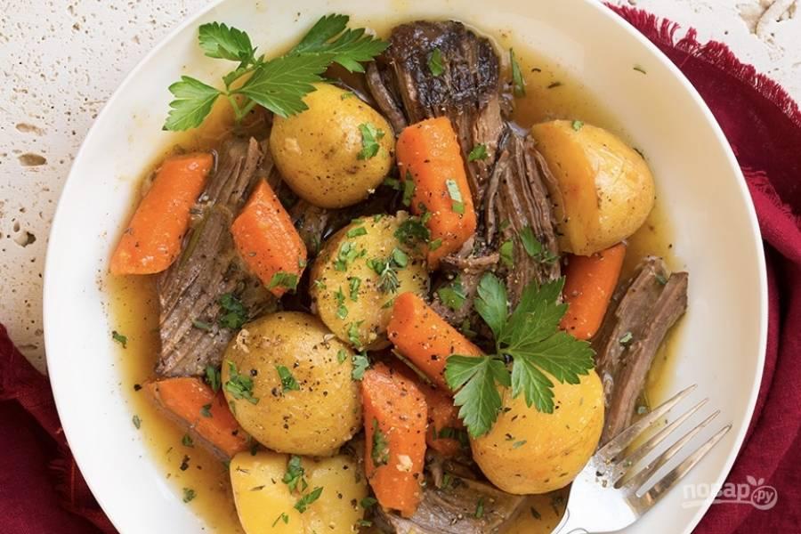 Жаркое с картошкой