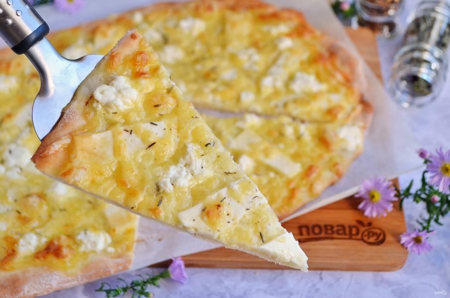 """Итальянская пицца """"Четыре сыра"""""""
