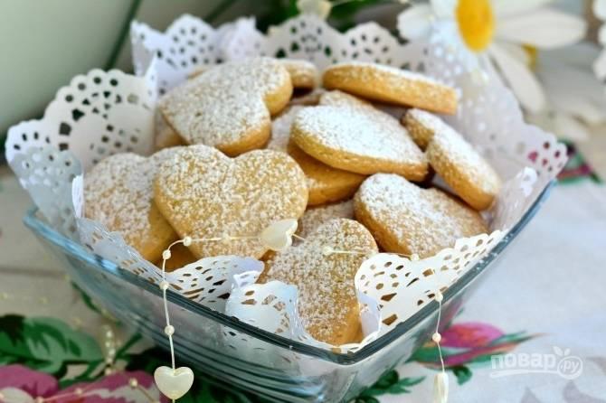Вкусное печенье на маргарине