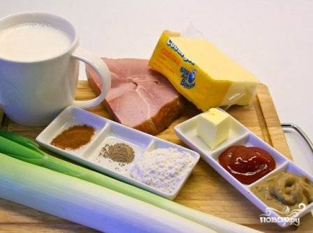 Подготовим все необходимые для супа продукты.