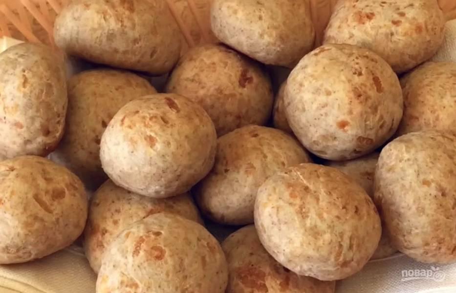 Сырные булочки на завтрак