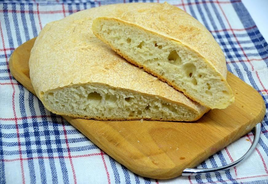 """""""Монастырский"""" хлеб без дрожжей"""