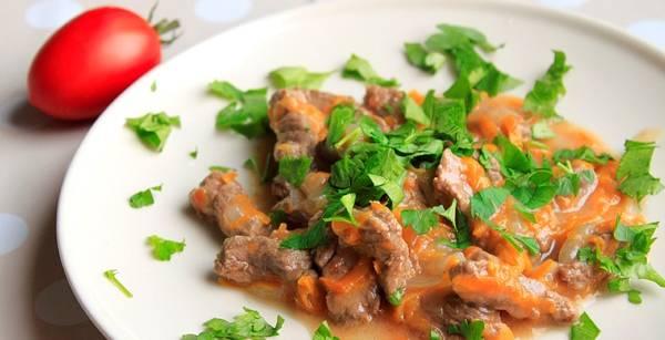 Готово! Перед подачей можно присыпать блюдо измельченной зеленью. Приятного аппетита!