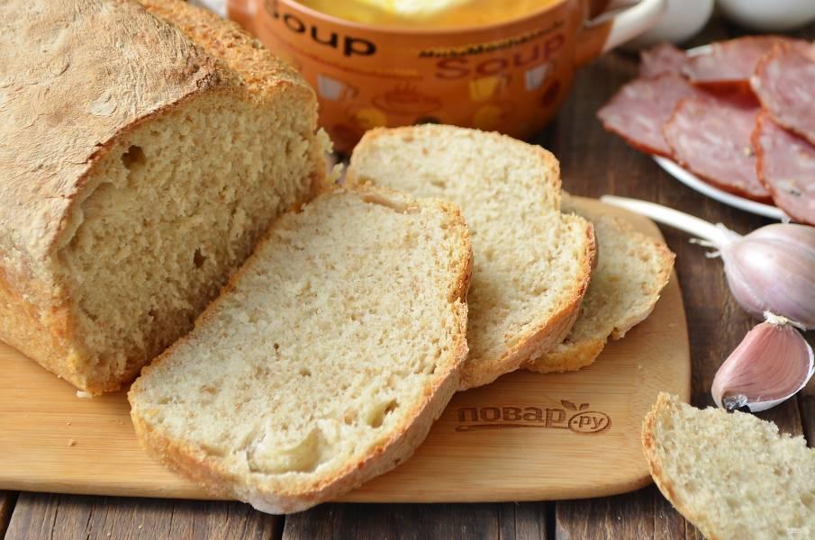 """Хлеб """"Отрубной"""" без замеса"""