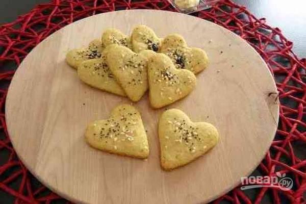 7.Готовому печенью дайте остыть и подайте на стол. Приятного аппетита!