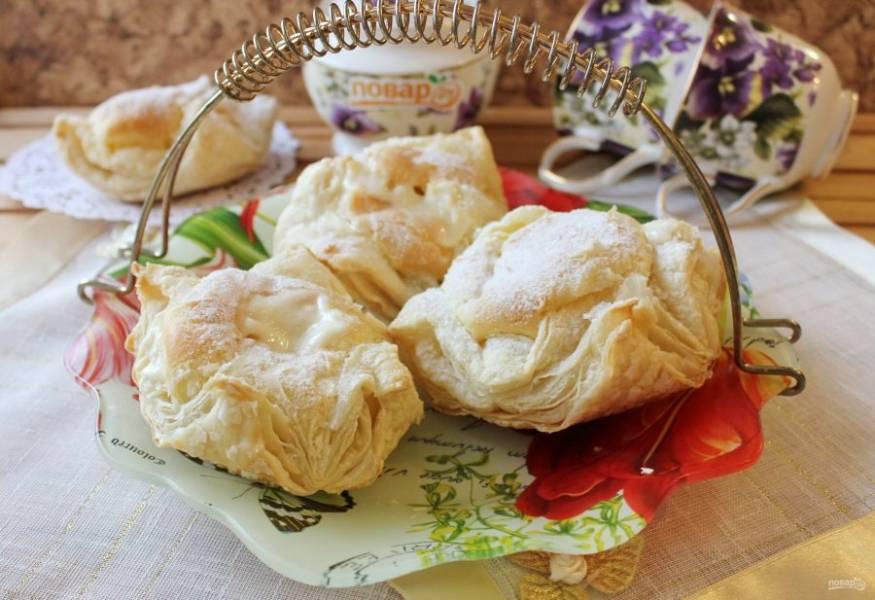 """Пирожное """"Ленинградское"""" готово. Подавайте на десерт."""