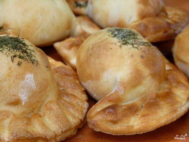 Пирожки с картошкой и укропом