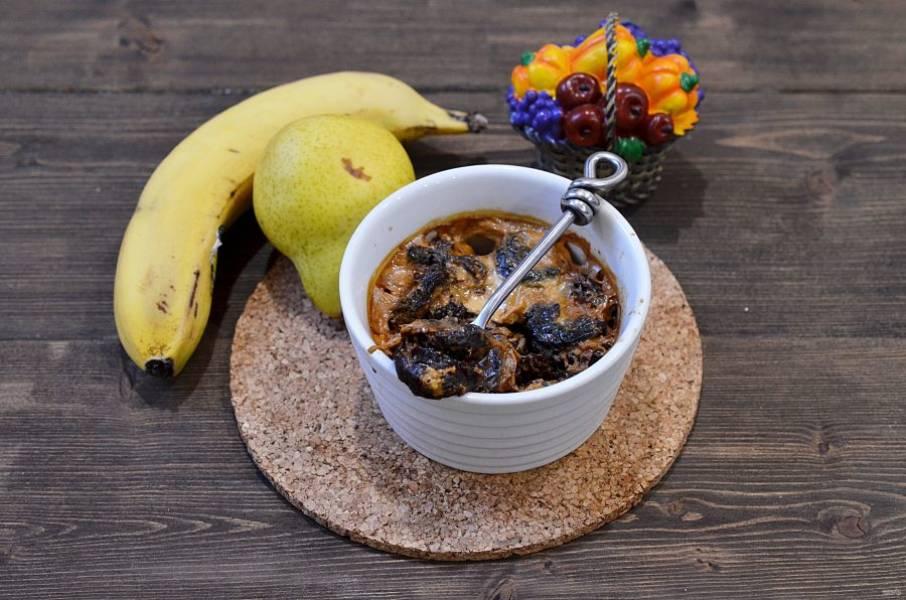 5. Запекайте чернослив в духовке при 180 градусах около 20 минут. Приятного аппетита!