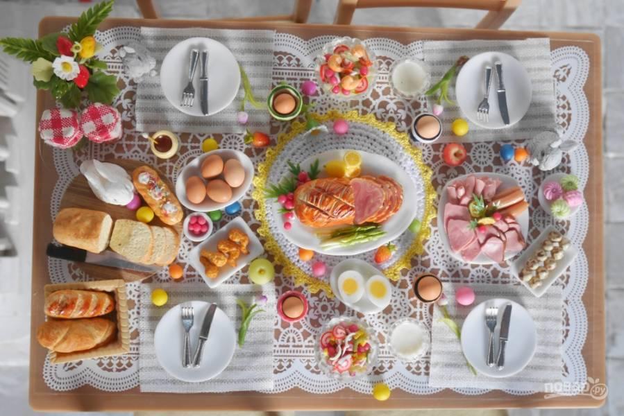 Просто прекрасно: как украсить стол на Пасху