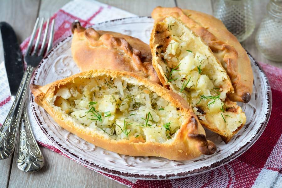 Татарские пирожки с картошкой