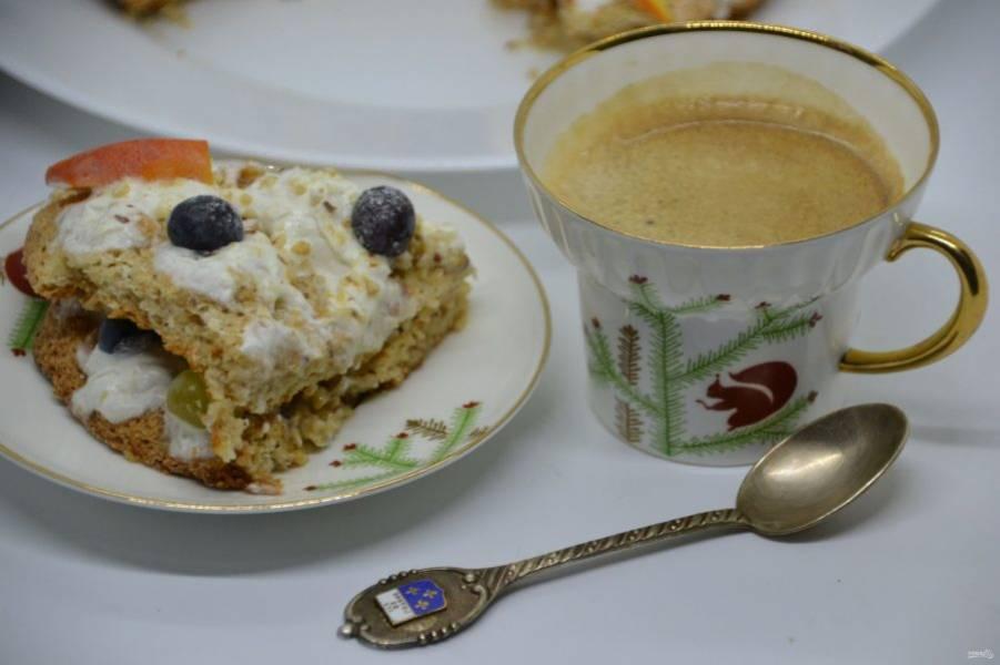 Такой десерт необыкновенно хорош с кофе!