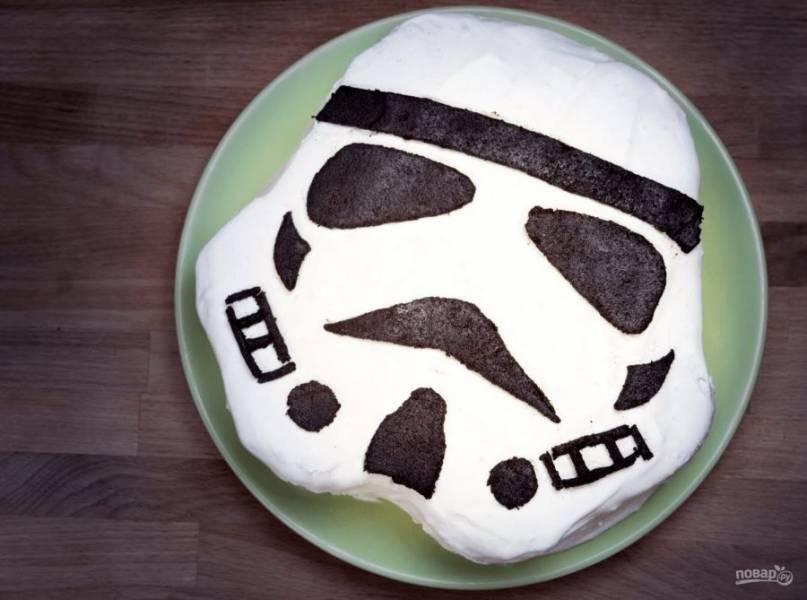 7. Отправьте торт на несколько часов в холодильник. Приятного аппетита!