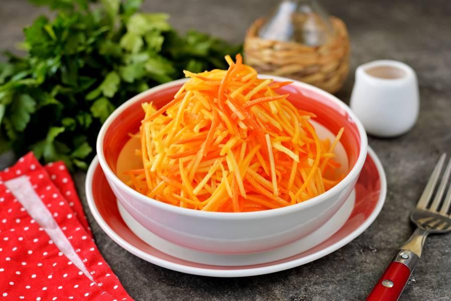 Салат из тыквы для похудения