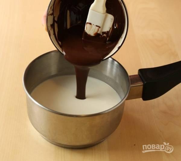 2. Добавьте шоколад.