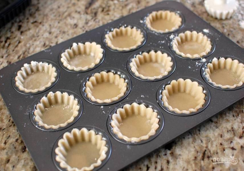 Тесто для тарталеток