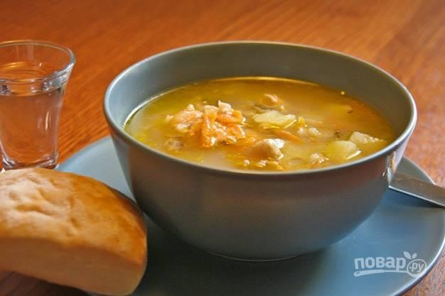 """Суп """"Уха"""" из семги"""
