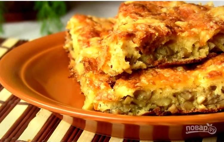 7. Извлеките пирог из формы — и наслаждайтесь!