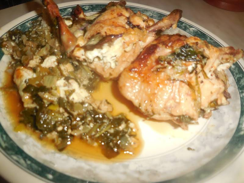 4. Подаем, посыпав зеленью, со свежим мацони. Приятного аппетита!