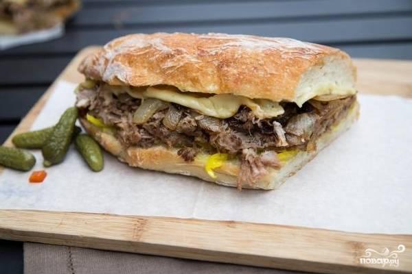 Кубинский сэндвич