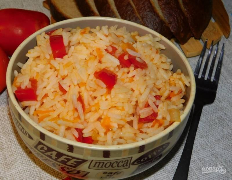Рис с томатами на гарнир