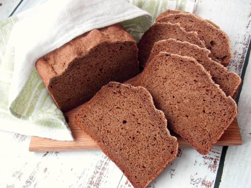Ржаной хлеб с солодом в хлебопечке