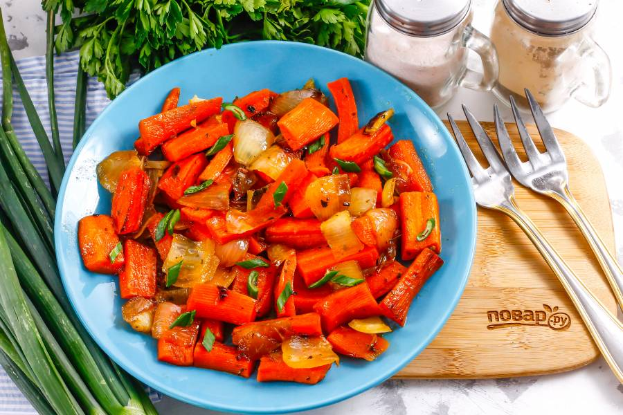 Соте из моркови