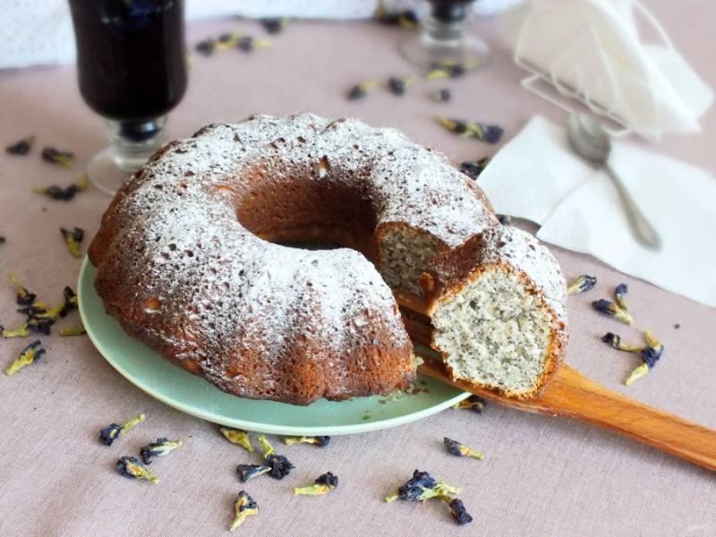 Перед подачей, по желанию, присыпьте выпечку сахарной пудрой. Приятного аппетита!