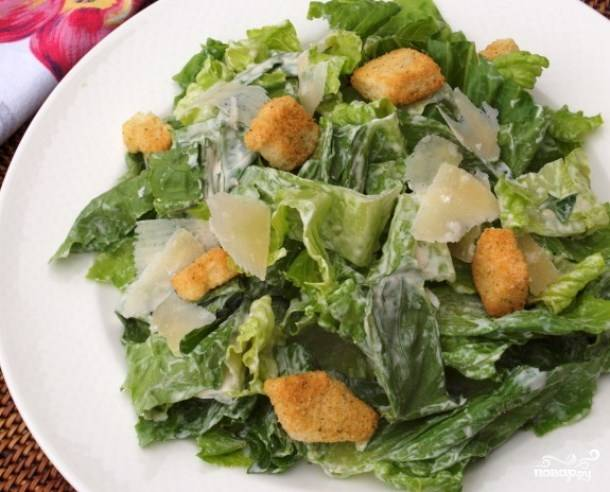 """Заправка к салату """"Цезарь"""""""