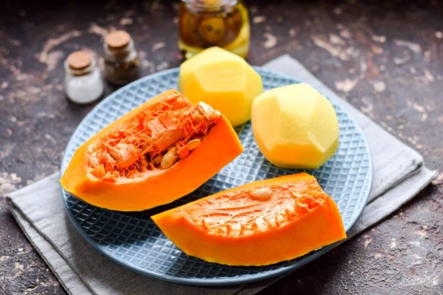 Подготовьте ингредиенты. Сразу прогрейте духовку, установите температуру 180 градусов.