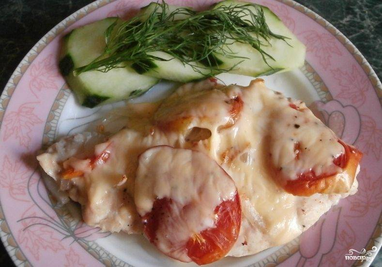Куриная грудка отбивная с сыром в духовке