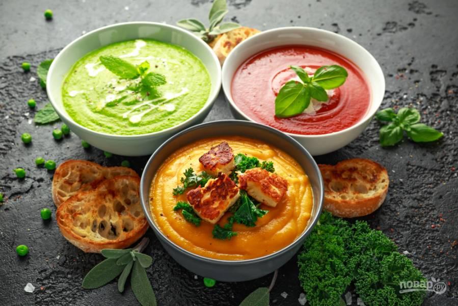 Топ-5 весенних холодных супов