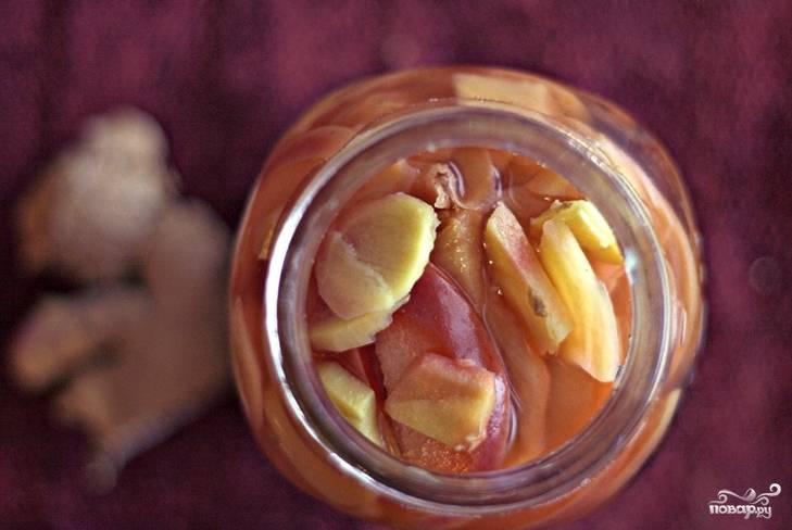 Яблоки в собственном соку
