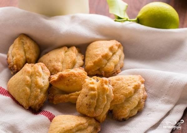 Песочное печенье с творогом