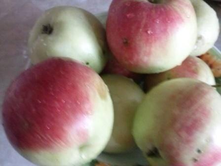 1. Самое главное в данном рецепте - правильно приготовить яблоки. Я обычно беру сладкие сорта. поскольку не добавляю сахар.