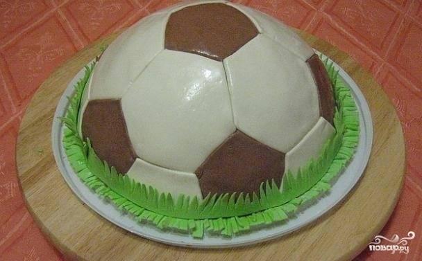 """Торт """"Футбольный мяч"""""""
