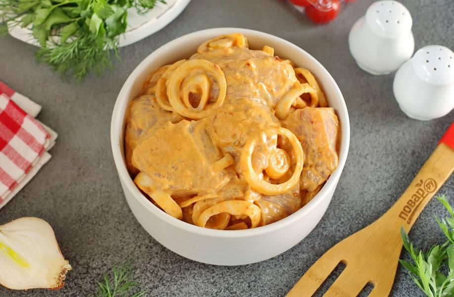 Маринад для шашлыка из куриного филе
