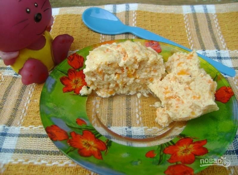 Мясное суфле для ребенка