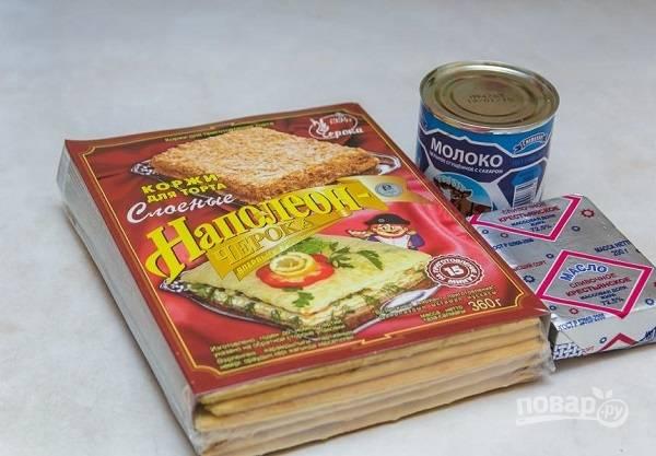 1. Вот такой скромный набор необходимых нам ингредиентов.