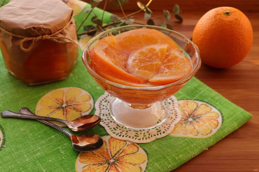 Апельсиновое конфи