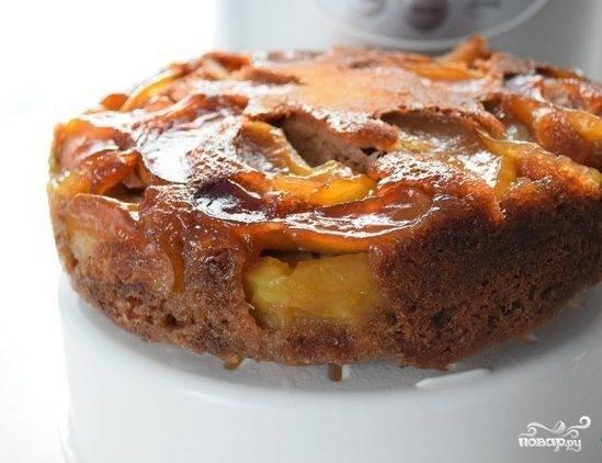 Яблочный кекс в мультиварке