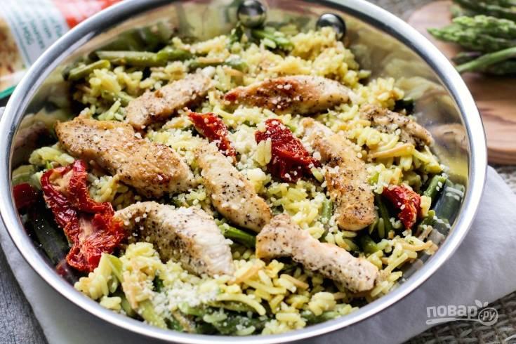 Курица с рисом по-итальянски