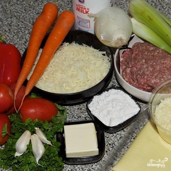 Итак, для начала подготовим все ингредиенты.