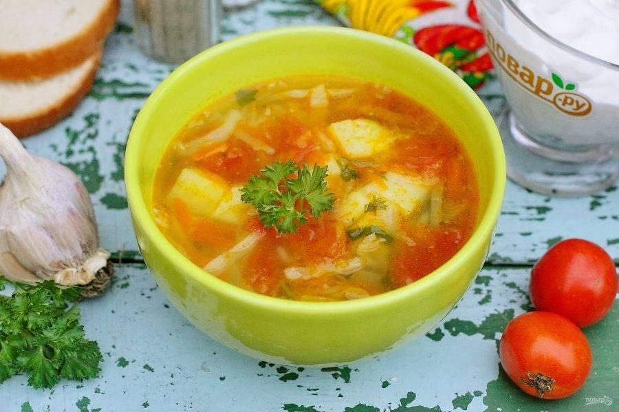 Топ-5 супов без мяса