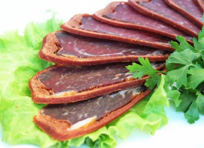 Бастурма из говядины по-армянски