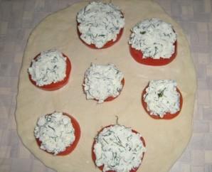Пирожки с брынзой - фото шаг 4
