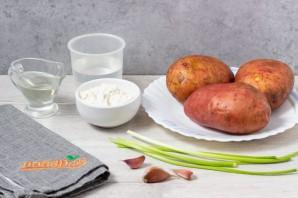 Картофельные драники в вафельнице - фото шаг 1