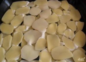 Свинина по-французски с помидорами и картошкой - фото шаг 4