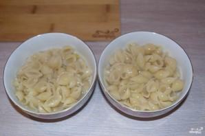 Макароны с сыром в духовке - фото шаг 5