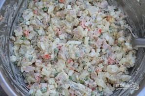 """Вкусный салат """"Оливье"""" - фото шаг 7"""